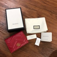 Gucci Marmont Card Case Wallet