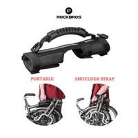 Rockbros B38 Bike Carrier Handle Grips Shoulder For Brompton - Sepeda