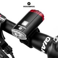 ROCKBROS YQ-TD100LM Bicycle Helmet LED 100LM - Lampu Sepeda Helm