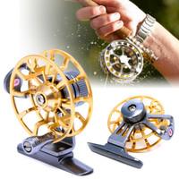 Fly Fishing Reel Full Metal Fishing Spinning Reel 120M