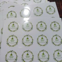 Harga stiker toples lebaran sticker