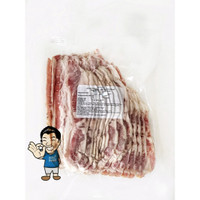 Smoked Beef Bacon Silce- Daging Sapi Asap 500g