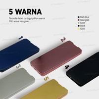 Flip Cover Samsung J3 Pro View Standing Mirror Premium- ALCSJ330FCMP