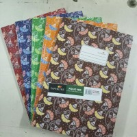Buku Tulis Folio 100 Lbr Hard Cover
