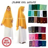 Paling Murah Jilbab Instan Xxl Wolfis Wolpeach Premium Grade A Murah