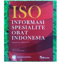 ISO Informasi Spesialite Obat Indonesia Volume 52 Tahun 2019