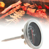 Termometer Oven M-04 BBQ Analog Dapur Stainless Thermometer Bimetal