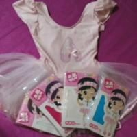 Terlaris Paket Baju Balet Anak/Balerina Kids/Tutu Balet Dengan