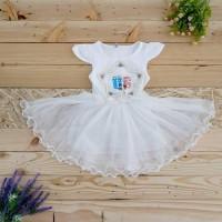 Terlaris Baju Anak Dress Princess Import 1/2/3/4/5 Tahun - Size Xxl,