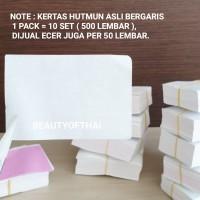[ ECER ISI 50 LBR ] KERTAS HUTMUN   HUTMUN ORIGINAL BERGARIS