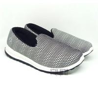 Ando Original - Midori Grey - Sepatu Kets Slip On Wanita