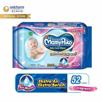 Mamypoko Baby Care Wipes 52 Lembar