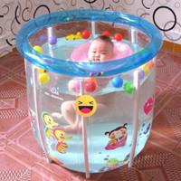 Kolam Bayi Baby Spa Baby Flow Blue Deluxe Baby Pool Kolam Renang Bayi