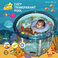 Kolam Bayi Baby Spa Baby Flow Duck Deluxe Baby Pool [80 X 78 cm]