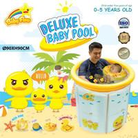 Kolam Bayi Baby Spa Baby Flow Duck Deluxe Baby Pool Kolam Renang Bayi
