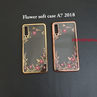 Samsung a7 2018 Flower soft case