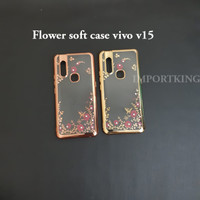 Vivo v15 Flower soft case