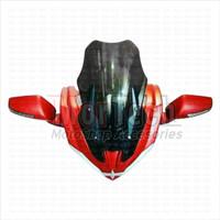 Tameng Visor Windshield + Spion N Max Nmax Plastik Hulk