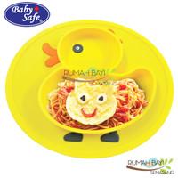 BabySafe Silicone Plate Mat SC008 - Piring Makan Bayi Anti Slip