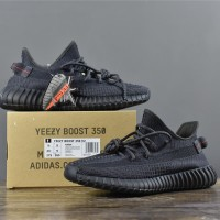 Yeezy V2 350 Black Static (UNAUTHORIZED AUTHENTIC)