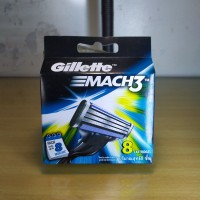 Gillette isi ulang Mach 3 isi 8 pcs