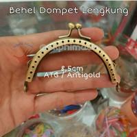 Behel Lengkung / Oval 8,5 cm ATG Antigold