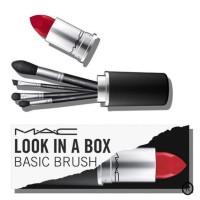 (ISI 4 PC) Kuas lipstik BRUSH MAC TABUNG BOX / MAC LOOK IN A BOX
