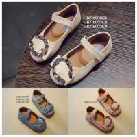 SPT14 - sepatu fantofel diamond tali anak cewek girl walker shoes
