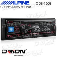 Alpine CDE 150E [ORION CAR AUDIO BANDUNG] Big deals