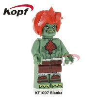 Lego Minifigure Blanka Street Fighter TV Game Bootleg