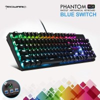Keyboard Tecware - Phantom 104 RGB Blue/Brown Switch