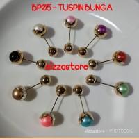 Bros Pin/Tuspin Bunga -