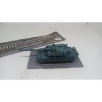 Display base + name kendaraan darat motif cobblestone untuk skala 1/72