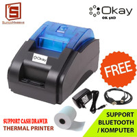 PRINTER BLUETOOTH PPOB / KASIR POS THERMAL 58MM OK-58D