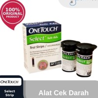 Strip Cek Gula One Touch - OneTouch Select isi 50