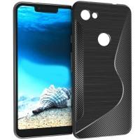 S-Line Carbon TPU Case Google Pixel 3a XL