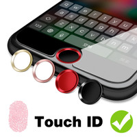 Home Button iPhone Protector Sticker Button Fingerprint ID Support