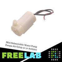 Mini Submersible Water Pump Pompa Air Celup 3v 5v Arduino