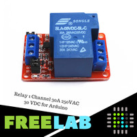 Relay 1 Channel 30A 250VAC 30 VDC for Arduino
