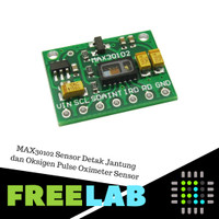 MAX30102 Sensor Detak Jantung dan Oksigen Pulse Oximeter Sensor