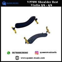 Shoulder rest violin 3/4 - 4/4 anton breton VP70W