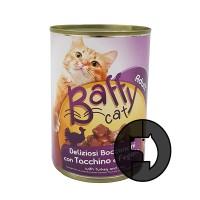 baffy cat 415 gr cat turkey and liver