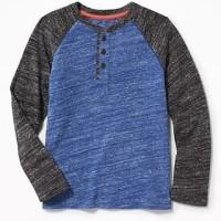 Kaos Anak Old Navy Raglan T-Shirt Original