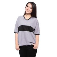 Baju JUMBO Wanita Kaos Lengan Pendek Model Terbaru