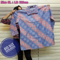 Blus Big Size kode 0405 / Batik Perempuan JUMBO / Batik Binzah