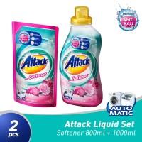 ATTACK Liquid Plus Softener 1000 ml + 800 ml