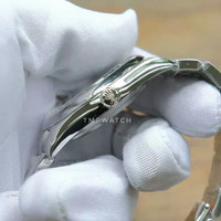 Rolex Oyster Perpetual Rhodium Grey JF Best Clone 1:1 Berkualitas