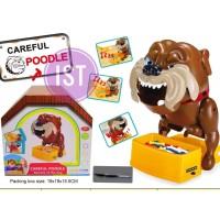 CAREFUL POODLE BEWARE OF THE DOG - BAD DOG