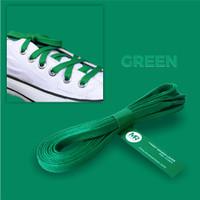 Tali Lilin Gepeng (Flat) 90cm Variasi Warna untuk Sepatu Sneakers