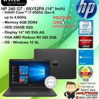 "HP 240 G7 - 6NY52PA (14"" Inch) Core i7-8565U/4GB/256GB SSD/WIN10SL/1YR"